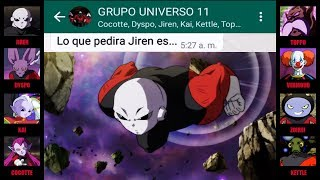 DRAGON BALL SUPER 127 CHAT