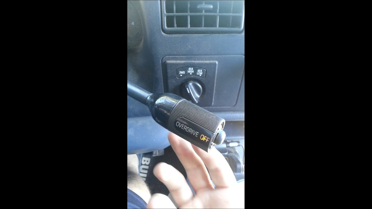 2000 Ford F250 7 3 overdrive light blinking YouTube