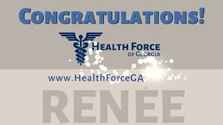 Health Force of Georgia's Star of the Month is Renee Fouche