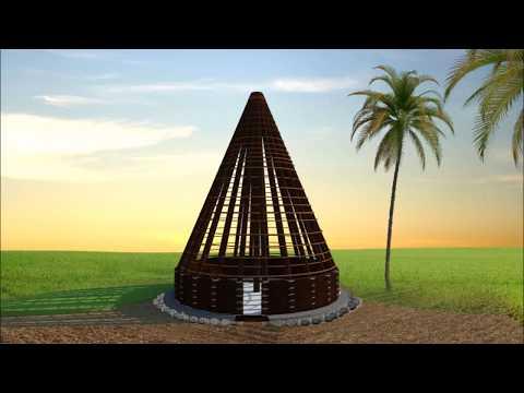Jean Marie Tjibaou Cultural Centre - Symbolizing the Kanak