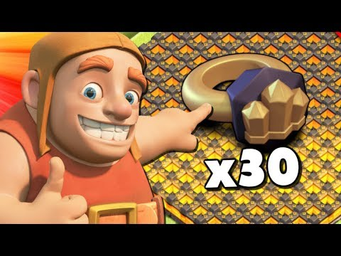 OK...WE DID IT! USING THE WALL RINGS! TH12 Farm To Max Ep 3 - Clash Of Clans!