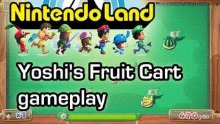 Yoshi's Fruit Cart - Nintendo Land - Wii U Gameplay