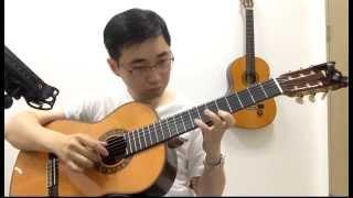 Romance - Yuhki kuramoto , classical guitar cover