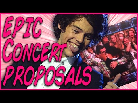 17 Epic Concert Proposals That Will Make You Cry