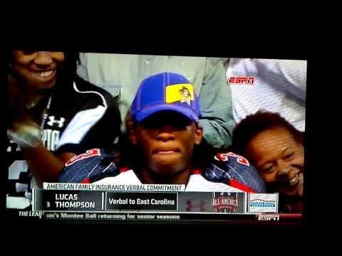 Lucas Thompson commits to East Carolina