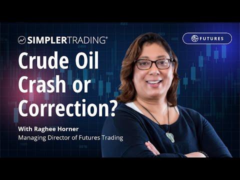 Futures Trading: Crude Oil Crash or Correction? | Simpler Trading