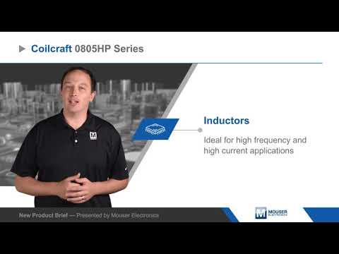 Coilcraft 0805HP Ceramic Wirewound Chip Inductors — New