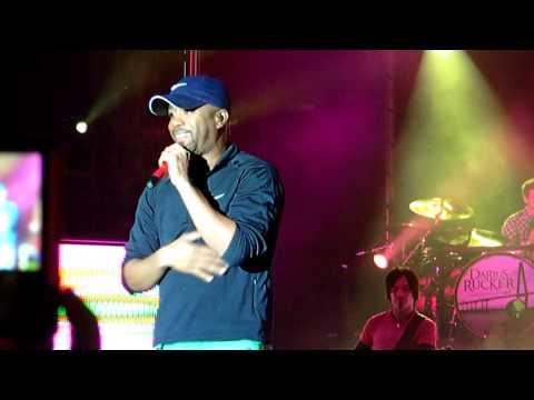 Darius Rucker singing Toby Keith's