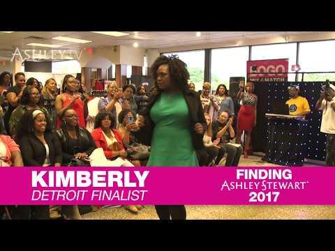 Finding Ashley Stewart Detroit Ep 8.2: Meet Finalist Kimberly Edwards