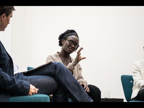Lynette Yiadom-Boakye, Josef Helfenstein, and Elena Filipovic in conversation at Kunsthalle Basel