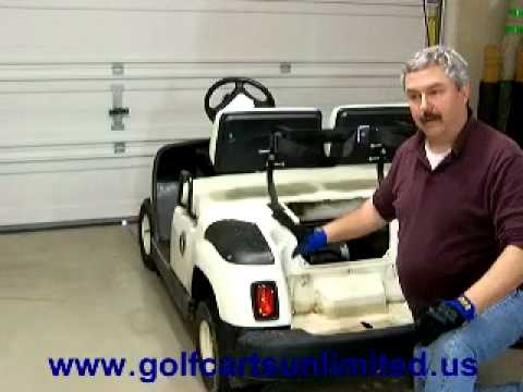 For A Club Car Golf Cart Wiring Diagram For Lights Golf Cart Lights Youtube