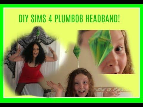 Sims Plumbob Template | Diy Sims 4 Plumbob Headband Sims Halloween Costume Youtube