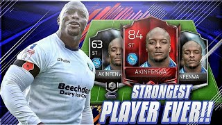 63 AKINFENWA to 84 BOOSTED AKINFENWA FIFA MOBILE 18 S2 !! 119 STRENGTH ! Strongest FIFA Player Ever!
