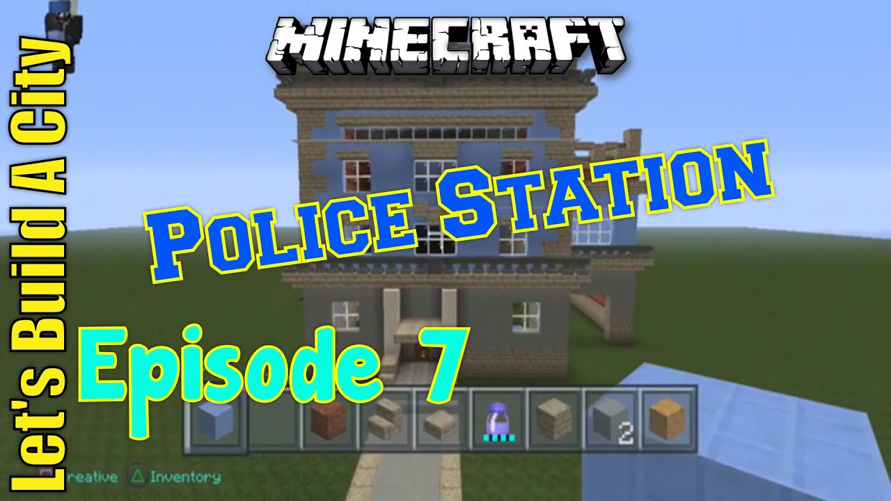 Minecraft Police Station - Year of Clean Water