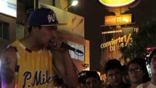 Repeat youtube video CARLITOS vs CADETE - FINAL - MOVIDA DE LOS 4 CONOS 2014 - RAPTONDA SAN MIGUEL