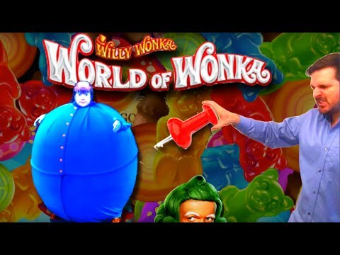 "I hate that Lil Blue B*tch! SDGuy ""POPS"" out some Big Wins on World of Wonka Slot Machine"