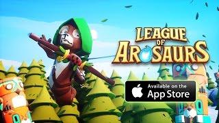 League Of Arosaurs - Официальный Русский Трейлер (iOS/Скоро Андроид)