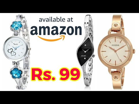 Women Stylish Watch On Amazon Below 200 | Ladies Watch Designs | Amazon Online Shopping