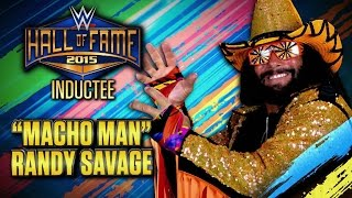 """Macho Man"" Randy Savage announced for WWE Hall of Fame Class of 2015: Raw, January 12, 2015"