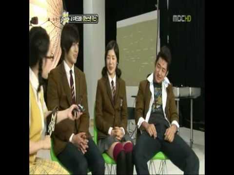 Kim Hyun Joong + Jung So Min + Lee Tae Sung - Mischievous Kiss Interview @ Section TV 100806