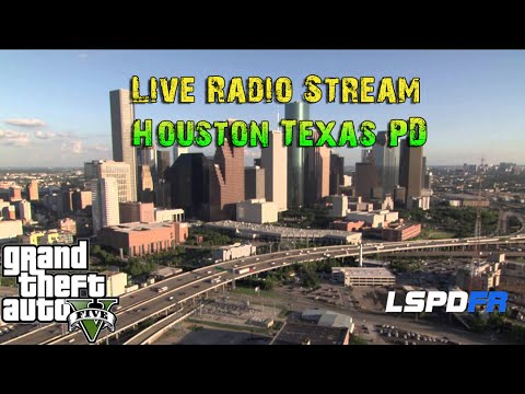 GTA 5 LSPDFR Live Police Radio Stream - Houston Texas PD - Store Hold Up - Panic Button