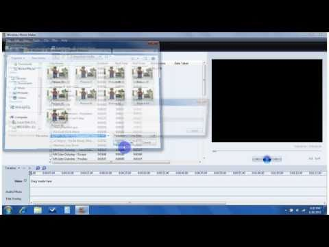 Windows Movie Maker Stop Motion Lessons Tes Teach