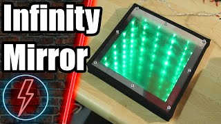How to make an infinity Mirror // DEUTSCH // HD