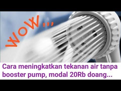 Cuma Modal 20Rb Semprotan Shower Jadi Lebih Kencang, Coba Trik Ini Sebelum Beli Booster Pump