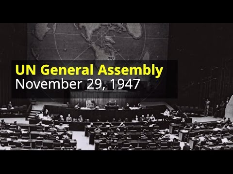 Who voted in favor of the UN