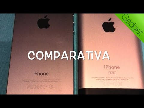 Comparativa: iPhone 5S vs iPhone 2G original
