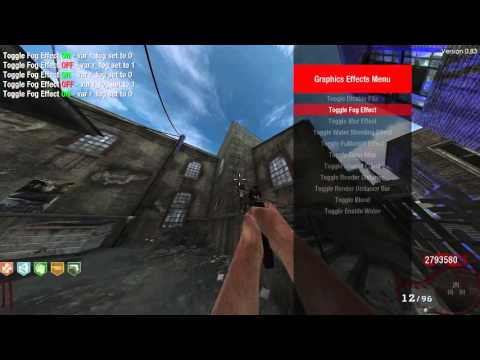 BO1] Zombie Mod Menu EnCoReV8 Zombie Edition - by CabCon +
