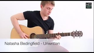 Natasha Bedingfield / Dave Glass - Unwritten - Guitar Tutorial - How to play Lesson by Nes Music