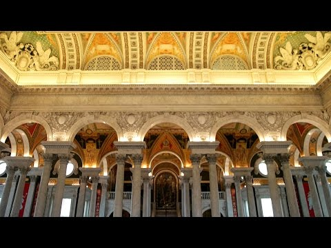 Library of Congress, Washington DC 4K UHD