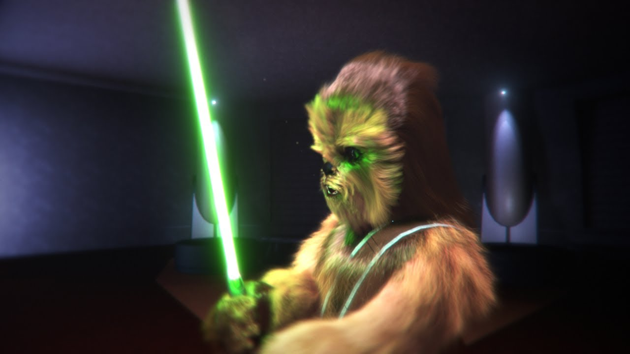 Gungi S Lightsaber Youtube Lowbacca was a wookiee jedi initiate in the new jedi order. gungi s lightsaber