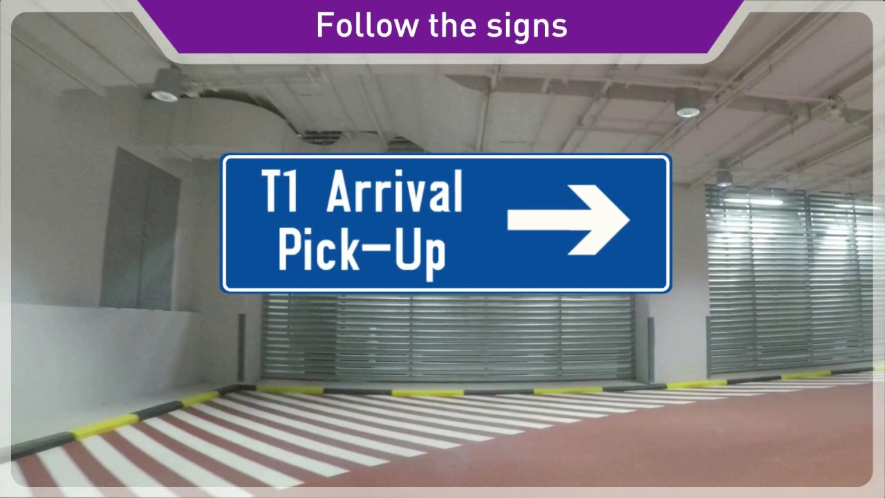 Relocation Of Terminal 1 Arrival Pick Up Youtube