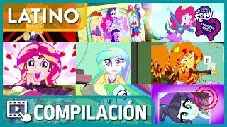 ▷Compilación   MLP: Equestria Girls   Cortos (Todos los Cortos) [Español Latino] [HD]