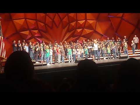 Living on prayer bon jovi cover by greenways intermediate school 5th grade choir