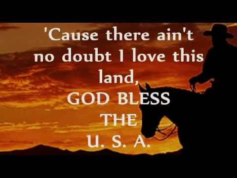 GOG BLESS THE U.S.A. (Lyrics) - LEE GREENWOOD