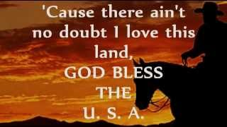 GOG BLESS THE U S A Lyrics LEE GREENWOOD