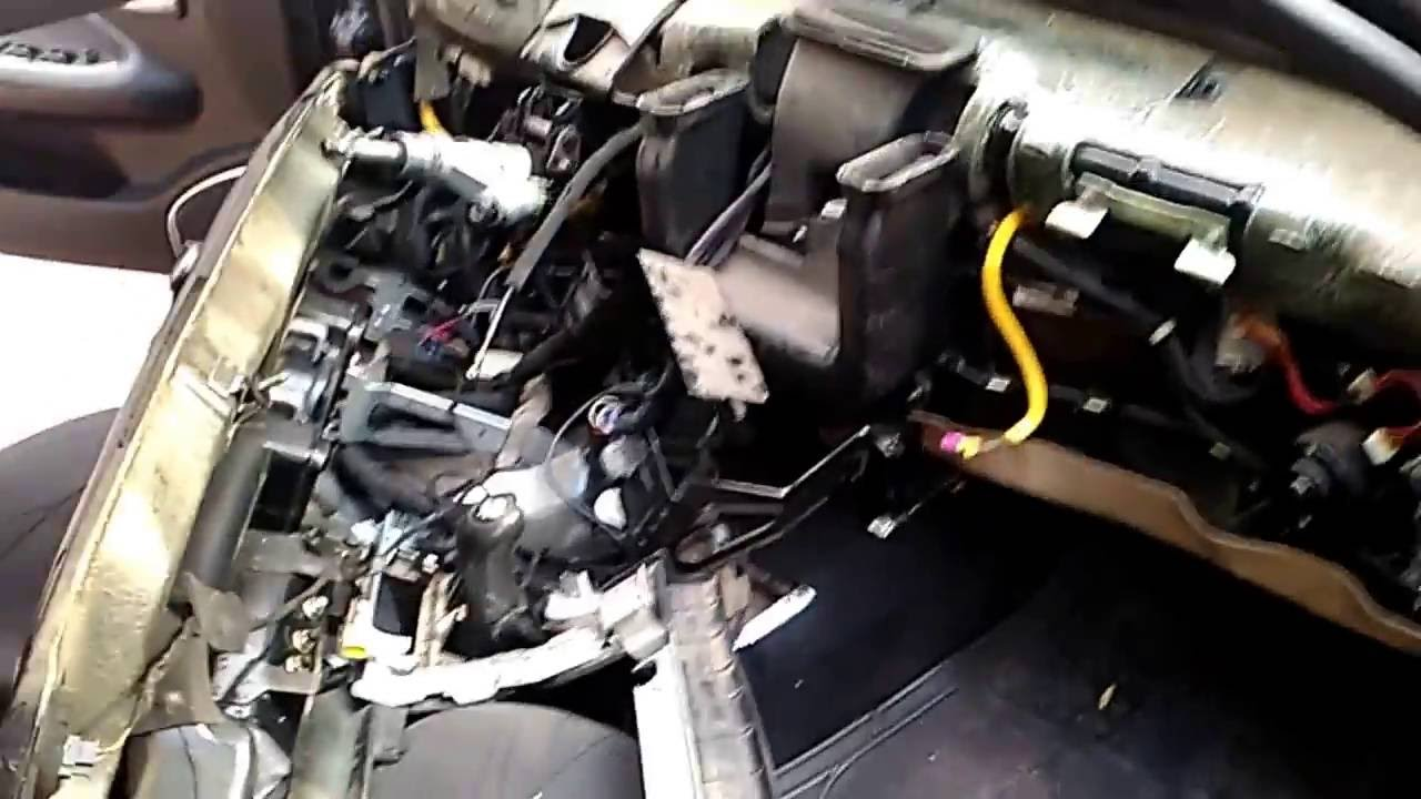 Как снять радиатор чери амулет снятие кондиционера с чери амулет