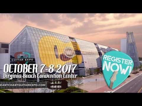 2017 East Coast Guitar Expo - Virginia Beach Convention Center