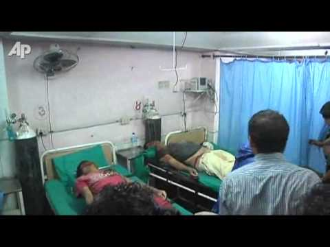 Raw Video: Strong Quake Hits Northeastern India
