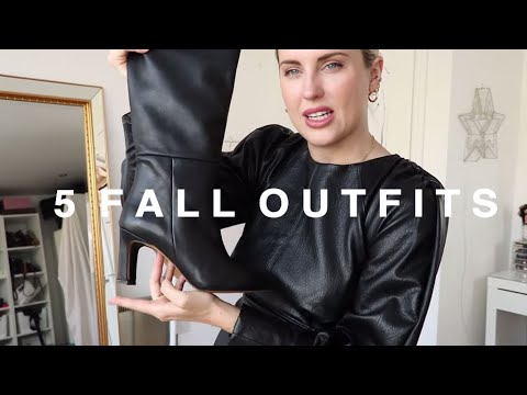 [VIDEO] - 5 AUTUMN OUTFIT IDEAS    STYLE LOBSTER 1