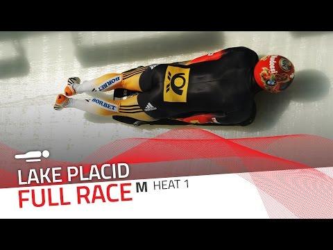 Lake Placid | BMW IBSF World Cup 2016/2017 - Men's Skeleton Heat 1 | IBSF Official