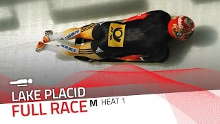 Lake Placid | BMW IBSF World Cup 2016/2017 - Men's Skeleton Heat 1 | IBSF Official