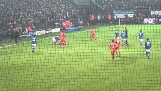 12.03.2013 Schalke - Galatasaray ikinci devre Gol Umut Bulut