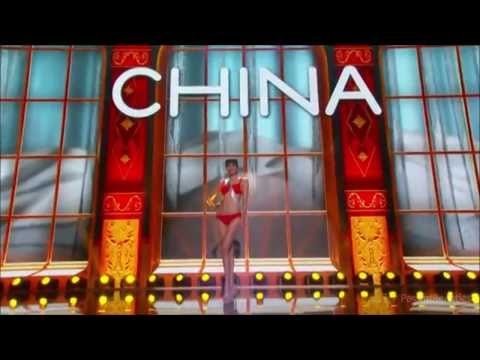 MISS CHINA 2013 IN SWIMSUIT PRELIMINARY