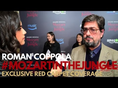 Roman Coppola ed at the Mozart in the Jungle Holiday Concert Event MozartInTheJungle