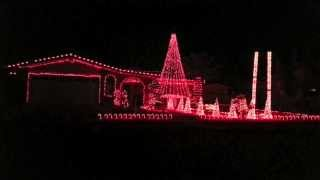 Sail - Awolnation - Skorge Dubstep Remix - Christmas Light Show El Paso, TX