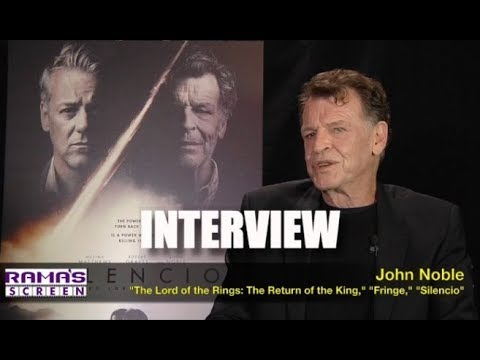My  with John Noble about 'SILENCIO' and the Tortoise